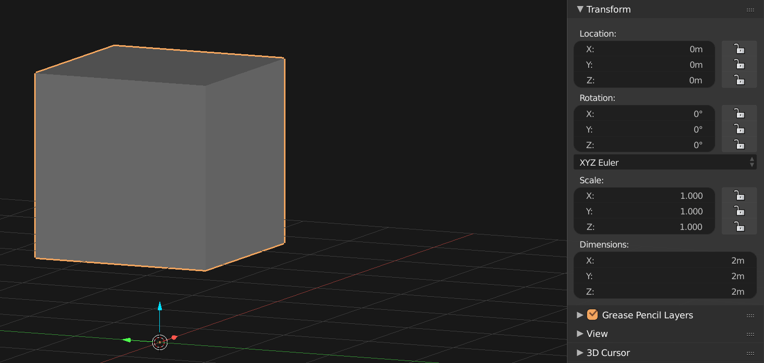 Meshes with Python & Blender: Cubes and Matrices - Sinestesia