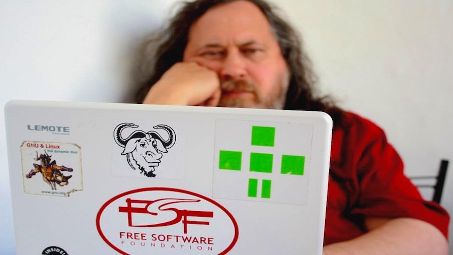 Richard Stallman, author of the FSF